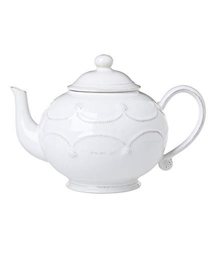 Juliska Dinnerware Berry and Thread Teapot - Whitewash