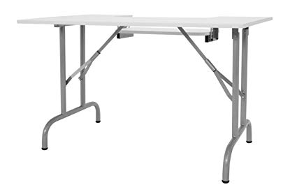 Offex Hobby Craft Center Multipurpose Foldable Sewing Desk Table