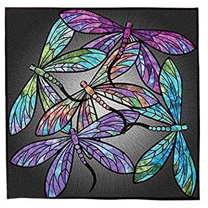 Dance of the Dragonflies~Pre-Cut Applique Kit~40