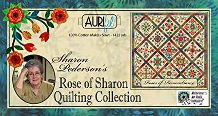 Aurifil Rose of Sharon Quilting 50wt Thread Set